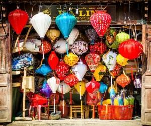 Hoi An famous lantern workshop