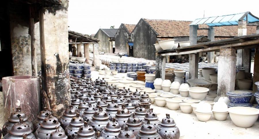 bat trang village & van phuc silk village