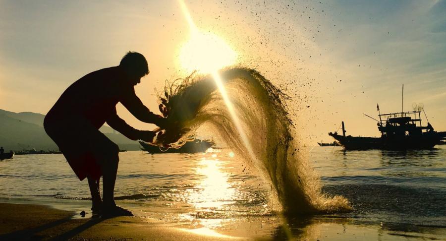 relaxing and fabulous time - cua dai beach (1 day)